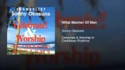 Sunny Okosun - What Manner Of Man